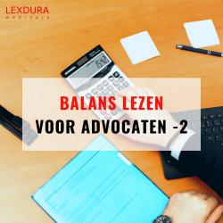 Balans lezen voor advocaten...