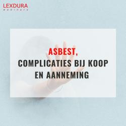 Asbest, complicaties bij...